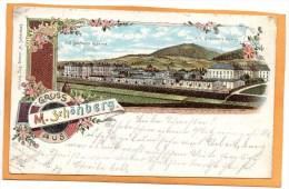 Gruss Aus M Schonberg 1898  Postcard - Tchéquie