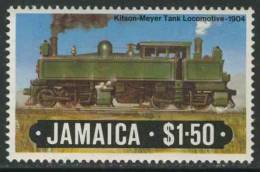 Jamaica 1984 Mi 597 ** Kitson-Meyer Tank Locomotive (1904) / Lokomotive - Eisenbahn - Treinen