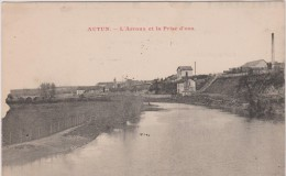 71 AUTUN 1910 ? BRASSERIE L'ARROUX ED JC TBE - Autun