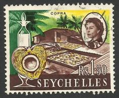 Seychelles, 1.50 R, 1962, Scott # 208, Used - Seychelles (...-1976)