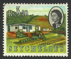 Seychelles, 3.50 R, 1962, Scott # 210, Used - Seychelles (...-1976)