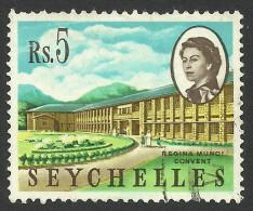 Seychelles, 5 R, 1962, Scott # 211, Used - Seychelles (...-1976)
