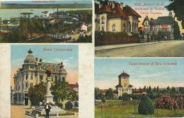 "Salutari Din T.-Severin Banca Bank Villa "" Evelyn"" Tache Popescu Used To Sibiu Edit Victor Maldarescu - Roumanie"