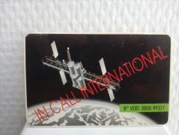 Prepaidcard Belh-gium In Call International  Used Rare !