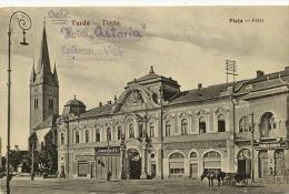 Turda Torda Piata Foter Banca Centrala Bank  Used To Sibiu Edit Fussy No 18 1931 - Roumanie
