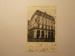 Carte Postale - PARIS (75) - Maison De Vente - Cie Des Indes (Manufacture De Dentelles) Rue Richelieu (1416) - Other