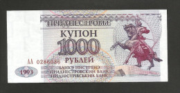 [NC] TRANSNISTRIA - NATIONAL BANK - 1000 ROUBLES (1993) - Altri – Europa