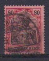 GERMANIA REICH IMPERO 1902 ALLEGORIA LEGGENDA DEUTSCHES UNIF. 75 USATO VF - Germania