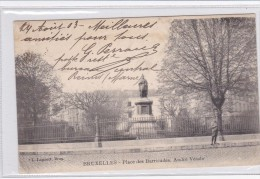 Brussel Nruxelles Place Des Barricades. André Vésale # 1903 - Plazas