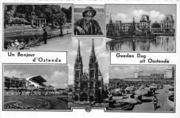 BF35405 Ostende Multi Views Belgium   Front/back Scan - Oostende