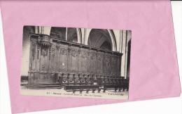 Nevers - Cathédrale Saint-Cyr - Banc Des Chanoines - Nevers