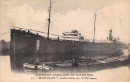 """¤¤   -   Cargot  """" MONIQUE """"  De La Compagnie Auxiliaire De Navigation  -  ¤¤ - Commerce"""