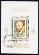 Bulgaria - 1991 - Usato/used - Arte - Van Gogh - Mi Block 214 - Gebruikt