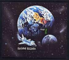 Bulgaria - 1991 - Usato/used - Spazio - Mi Block 215A - Gebruikt