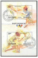 Bulgaria - 1990 - Usato/used - Olimpiadi - Mi Block 211A - Gebruikt