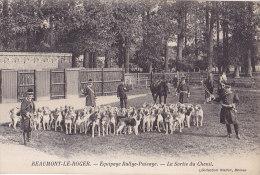 27 / BEAUMONT LE ROGER / EQUIPAGE RALLYE PUISAYE / LA SORTIE DU CHENIL - Beaumont-le-Roger