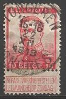 1912 10c Albert I, Used - 1912 Pellens