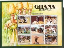 Ghana 2004 Folk Music Dance Folklore Festival Festivals - Ghana (1957-...)