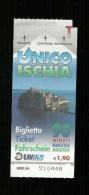 Biglietto Autobus Italia - Unico Ischia 90 Minuti da euro 1.20