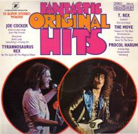 * LP *  FANTASTIC ORIGINAL HITS - T.REX / COCKER / MOVE / PROCOL HARUM (UK 1971  EX!!!) - Compilaties