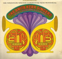 * LP *  ANITA KERR SINGERS - VELVET VOICES AND BOLD BRASS (USA EX-!!!) - Vinylplaten