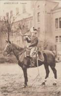 Armee Belge Lancier, Age 1915, Maße 13,8 X 9 Cm - 1914-18