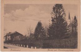 AK Silherovice Schillersdorf Kirche Und Verwaltungsgebäude Bei Troppau Opava Hlucin Hultschin Bohumin Oderberg Ostrava - Sudeten