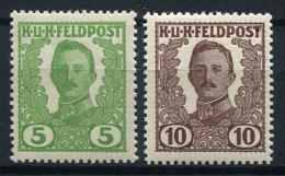 26317) �STERREICH Ausgabe Bosnien Herzegowina # III + IV gefalzt aus 1918, 30.- �