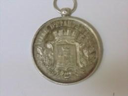 Médaille Concours  Manœuvre De Pompes à  Incendie - France