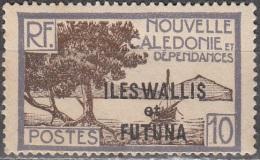 Wallis & Futuna 1930 Yvert 47 Neuf * Cote (2015) 0.25 Euro Baie De La Pointe Des Palétuviers - Neufs