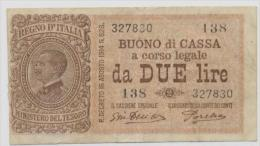 ITALY  P. 37c 2 L 1921 VF - [ 1] …-1946 : Kingdom
