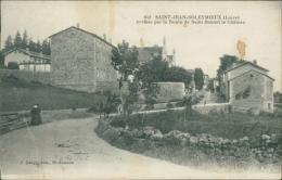 42 SAINT JEAN SOLEYMIEUX / Route De Saint Bonnet Le Château / - Saint Jean Soleymieux