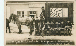 Lignieres: (10)  Grande Cavalcade - Carte Photo - Autres Communes