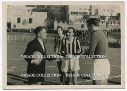 FOTOGRAFIA ORIGINALE PARTITA DI CALCIO SQUADRA SIENA CAMPIONATO  ANNO 1938 1939 STADIO DI SIENA FOTO GRASSI