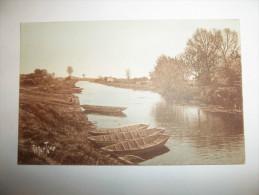 2wev - CPA  - Route D'eau à L'ILE D'ELLE - [17] - Charente Maritime - Autres Communes