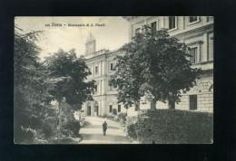 V1924 CARTOLINA  SIENA MANICOMIO S. NICOLO'
