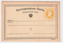Österreich, 1869,GA  Fehldruck, Euro 175.-  ,  #235 - Ganzsachen
