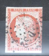 Y & T N°5  OBLITERE DS2 ROMAIN - 1849-1850 Cérès
