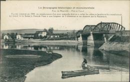 71 FLEURVILLE / Le Pont, Le Port Et Le Canal / - Frankreich