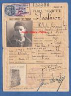 Carte Ancienne D'identité De 1928 - Valentine Raymonde PSALMON , Secrétaire Particuliére , Née à CLAMART En 1903 - Documents Historiques
