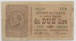 ITALY  P. 37c 2 L 1921 F/VF - [ 1] …-1946: Königreich