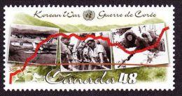 CANADA,2003,  #1993, 50th Anniv. Of The SIGNING KOREA ARMISTICE AGREEMENT,MNH - 1952-.... Reinado De Elizabeth II