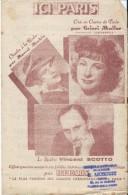Ici Paris/ Le Plus Parisien Des Grands Hebdomadaires/ /Vincent Scotto/ Cricri Muller/Le Perreux Sur Marne/1948   PART72 - Partitions Musicales Anciennes