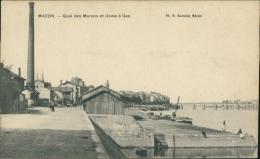 71 MACON / Quai Des Marans Et Usine à Gaz / - Macon
