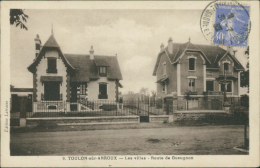 71 TOULON SUR ARROUX / Les Villas, Route De Gueugnon / - Autres Communes
