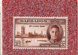 """BARBADOS  --    """"""""  3 D . """"""""  --    8 JUIN 1946  --   NEUF SANS  TRACE DE CHARNIERE - Barbados (1966-...)"""