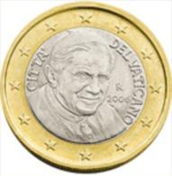Vatikaanstad 2011    1 Euro   UNC Uit De BU    UNC Du Coffret  !! - Vatican