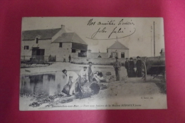 Cp  Courseulles Sur Mer Parc Aux Huitres De La Maison Heroult Jeune - Courseulles-sur-Mer