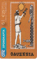 "GREECE - Odyssey 2, OTE Prepaid Card 25 Euro, Collector""s Card No 19, Tirage 1500, 04/10, Used - Greece"