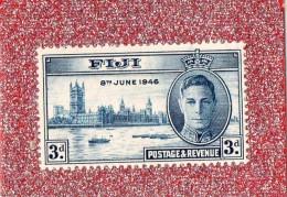 "FIJI  --  """"  3 D . """"  --    8 JUIN 1946  --  , NEUF SANS  TRACE  DE  CHARNIERE - Fiji (1970-...)"